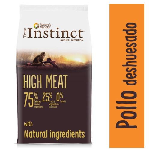 Ração para gatos True Instinct High Meat Frango