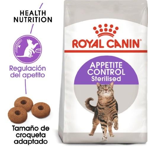 Royal Canin Sterilised Appetite Control para gatos