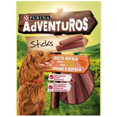 Snacks Purina Adventuros Sticks sabor Búfalo