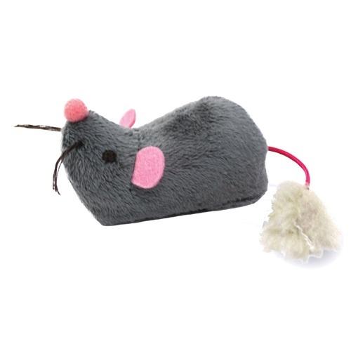 Rato eletrónico que corre para gatos