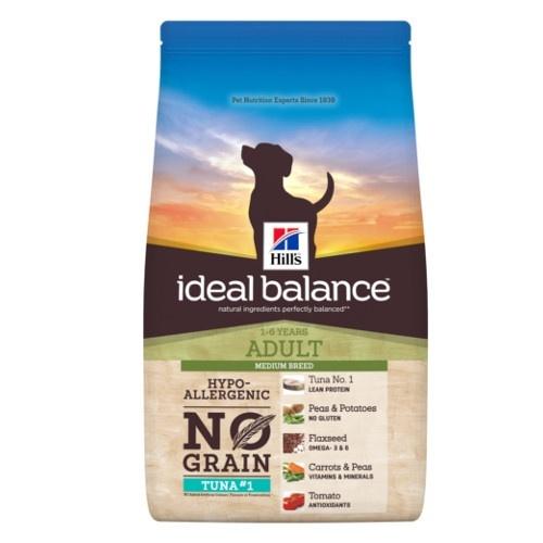 Hill's Ideal Balance Adult No Grain ração para cães com atum e batata