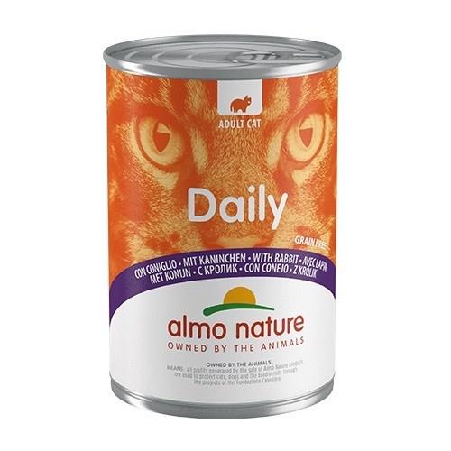 Comida húmida com coelho Almo Nature Daily Menu