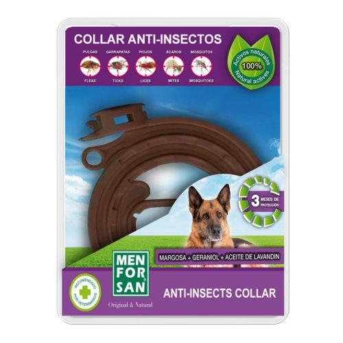 Menforsan coleira anti-insetos para cães