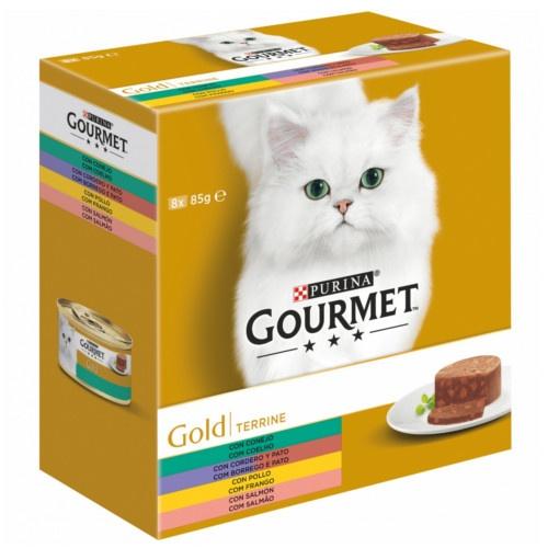 Pack Gourmet Gold Terrina sortido de carnes