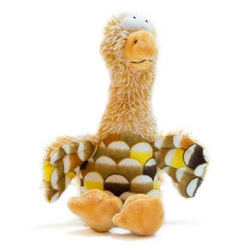 Brinquedo aguieta bege de peluche TK-Pet John