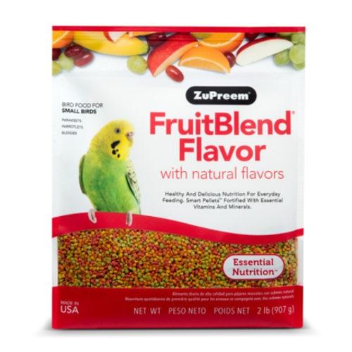 Ração Zupreem FruitBlend para periquitos e agapornis