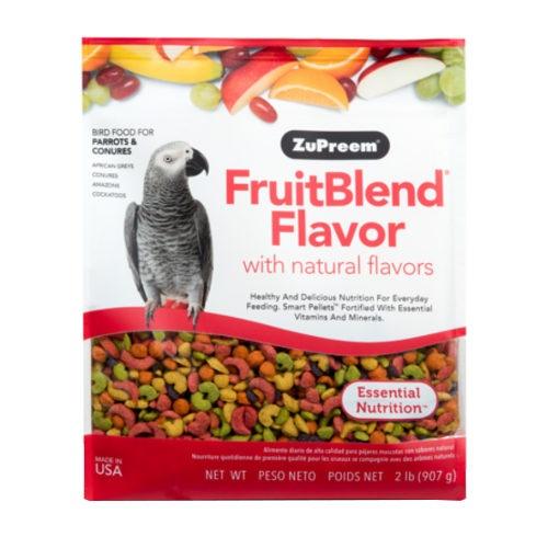 Ração Zupreem FruitBlend para papagaios médios
