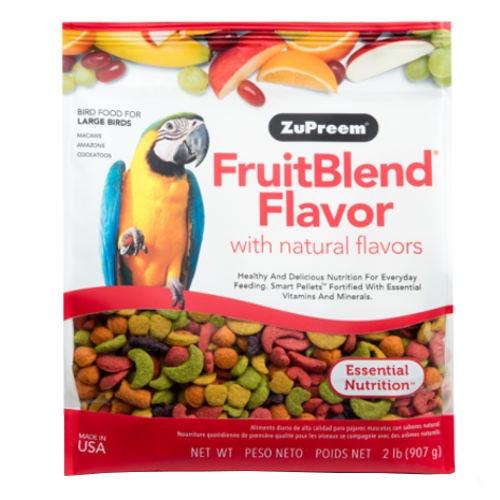 Ração Zupreem FruitBlend para papagaios grandes