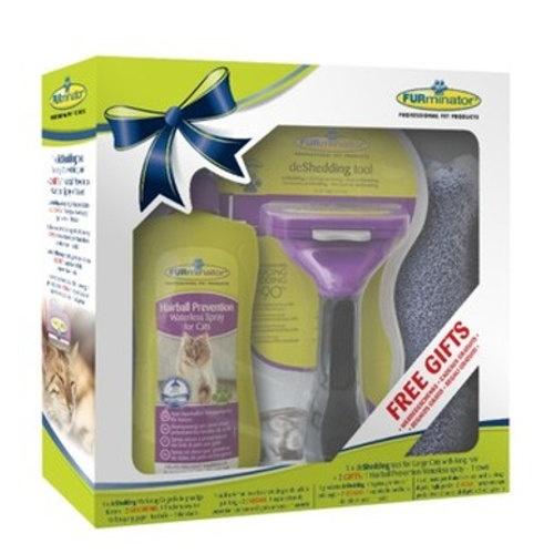 Pack Furminator para gatos de pelo comprido