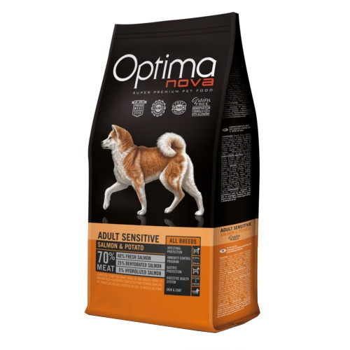 Ração Optima Nova Adult Sensitive Grain Free