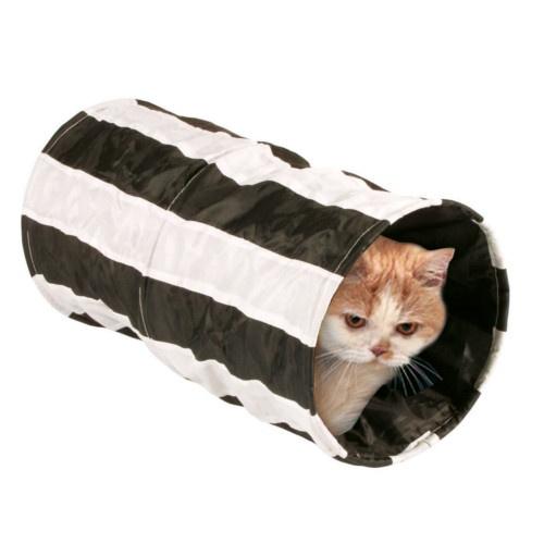 Túnel estaladiço para gatos