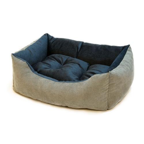 Berço para cães e gatos Wondermals Duke cinza e azul
