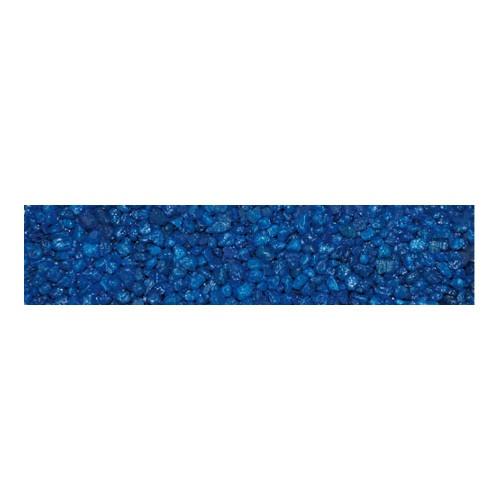 Areia azul escuro para aquários