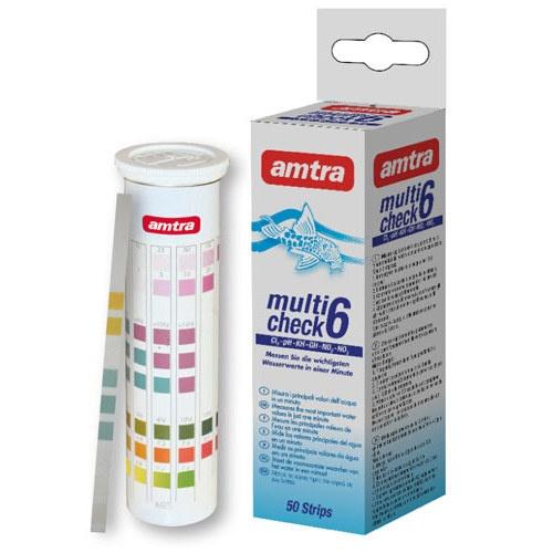 Test de água Amtra Multicheck 6