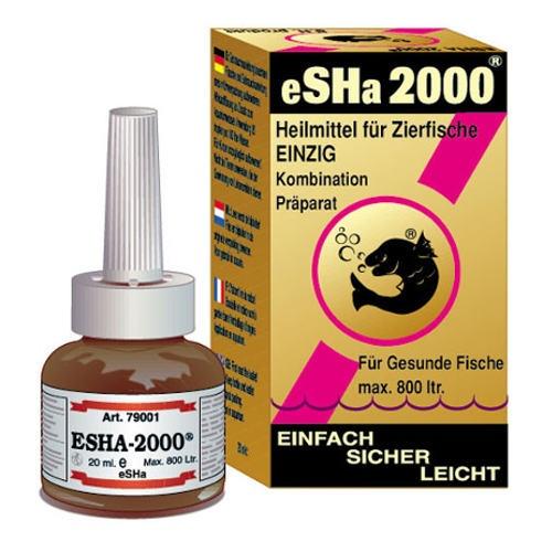 Tratamento desinfetante para peixes eSHa 2000