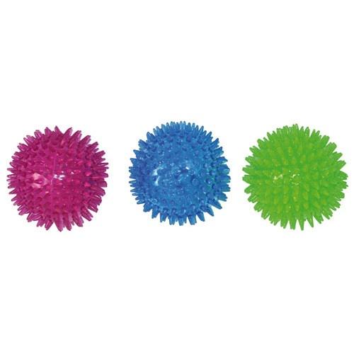 Brinquedo bola de bicos para cães