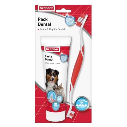Pack Dental pasta & escova para animais de estimação