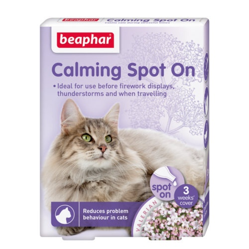 Pipetas relaxantes Calming Spot On para gatos