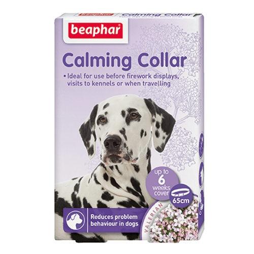 Coleira relaxante Calming Beaphar para cães