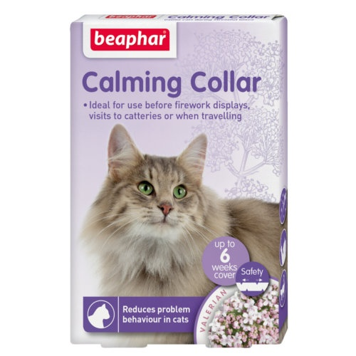 Coleira relaxante Calming Beaphar para gatos