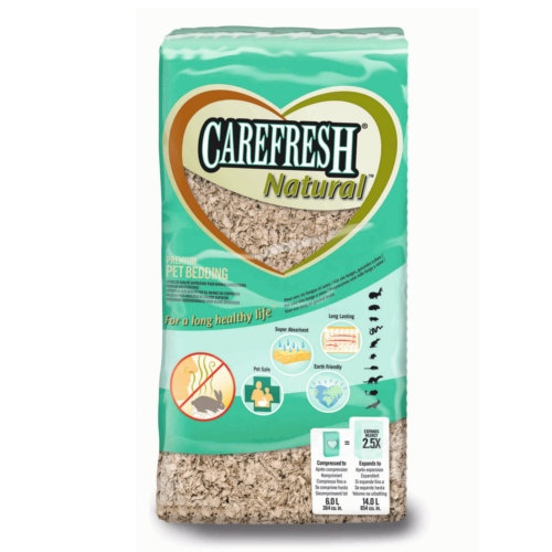 Leito Carefresh Natural para roedores