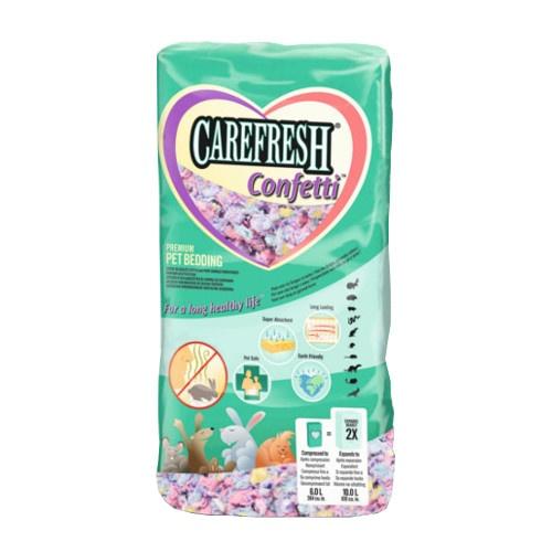 Leito Carefresh Confetti multicolor para roedores