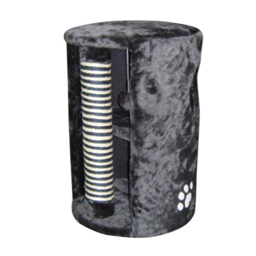 Torre suave com poste arranhador para gatos