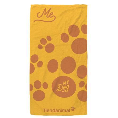 Toalha verão Tiendanimal cor-de-laranja