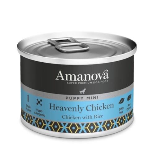 Amanova Puppy Mini com frango e arroz