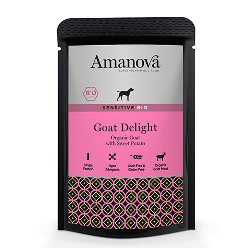 Amanova Bio Grain Free húmido com cabra