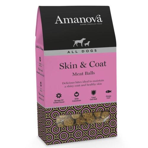 Snack Amanova Skin & Coat para cães