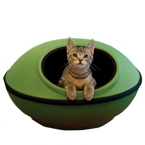Cama caverna de desenho para gatos