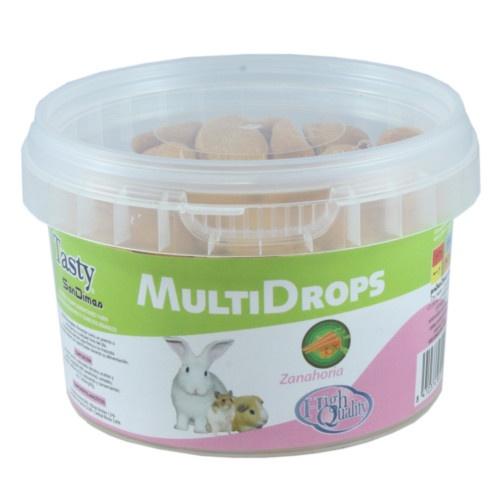Snacks MultiDrops de cenoura para roedores