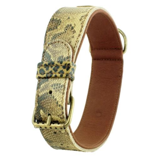 Coleira estampado de leopardo Nairobi