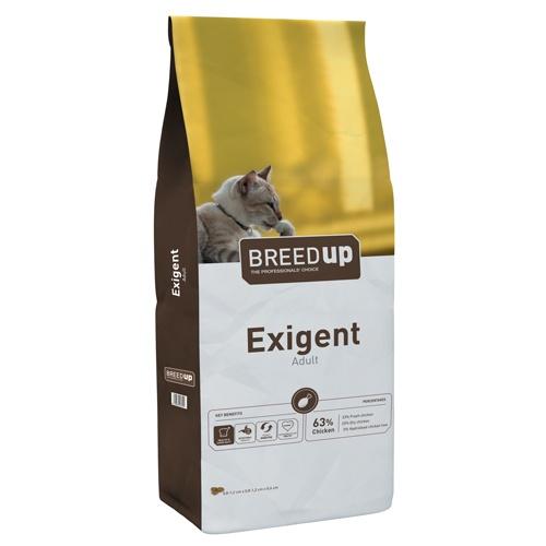 Ração para gatos exigentes Breed Up Exigent