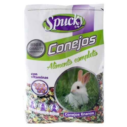Alimento completo para coelhos Spucky
