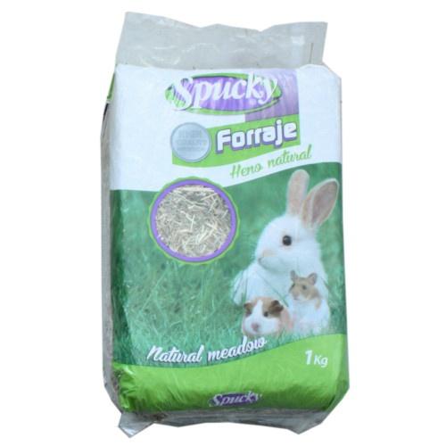 Feno natural Spucky para coelhos e roedores