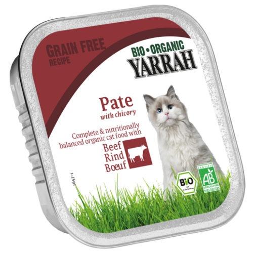 Patê ecológico Yarrah de vitela e chicória