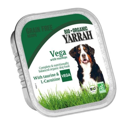 Bocadinhos ecológicos vegetarianos Yarrah