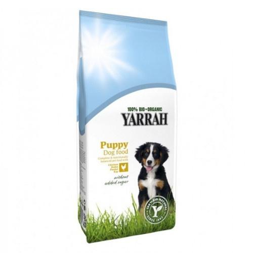 Ração ecológica Yarrah Puppy para cachorros