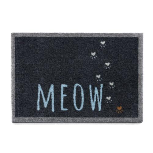 Capacho gatuno Meow preto
