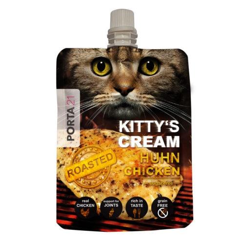 Snack cremoso Kitty's Cream de frango