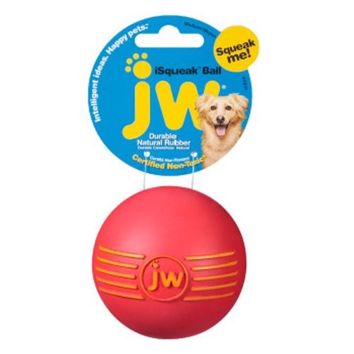 Bola de borracha com som para cães