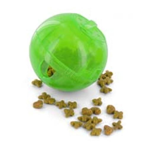 Bola interativa para comida Slimcat verde