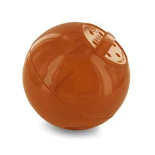 Bola interativa para comida Slimcat laranja