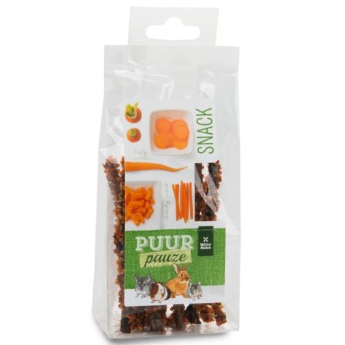 Palitos mastigáveis de cenoura Puur roedores