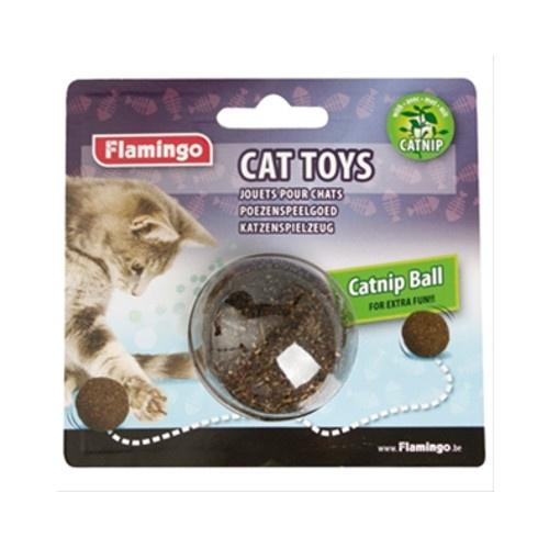 Bola de catnip para gatos