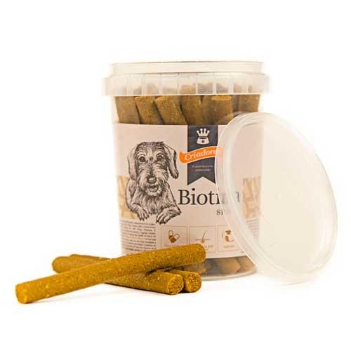 Snack Criadores com Biotina para cães