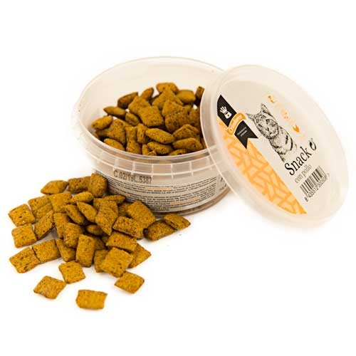 Snack Criadores com frango para gatos