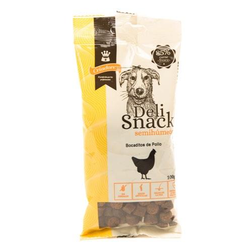 Delisnack semi-húmido para cães Criadores frango